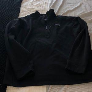 Men's XL Patagonia black 3/4 zip